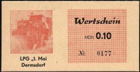 """L.021.1 LPG Dermsdorf """"1.Mai"""" 0,10 MDN (1)"""