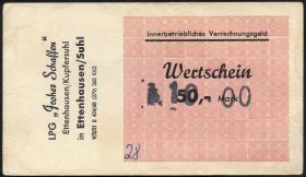 "L.027.7 LPG Ettenhausen/Kupfersuhl ""Frohes Schaffen"" 50 Mark (1)"