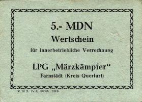 """L.028a.1 LPG Farnstädt """"Märzkämpfer"""" 5 MDN (1)"""