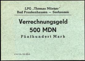 "L.029.7 LPG Bad Frankenhausen-Seehausen ""Thomas Müntzer"" 500 MDN (1)"