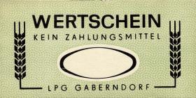 """L.032M LPG Gaberndorf """"Zur Warte"""" ohne Wertangabe (1)"""