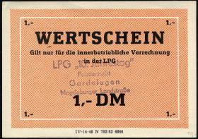 """L.033.39 LPG Gardelegen """"10. Jahrestag"""" 1 DM (1)"""