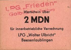 """L.038.11 LPG Golbitz """"Frieden"""" 2 MDN (1)"""