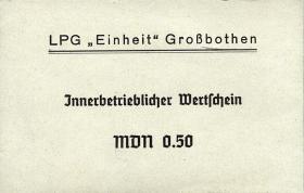 """L.044.1 LPG Großbothen """"Einheit"""" 0,50 MDN (1)"""