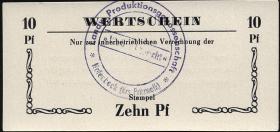 """L.051b.13 LPG Halenbeck """"Walter Ulbricht"""" 10 Pfennig (1)"""