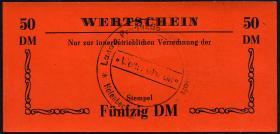 """L.051b.15 LPG Halenbeck """"Walter Ulbricht"""" 50 DM (1)"""