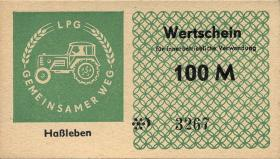 "L.053.9 LPG Haßleben ""Gemeinsamer Weg"" 100 Mark (1)"