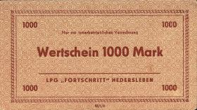 "L.054.5 LPG Hedersleben ""Fortschritt"" 1000 Mark (1)"