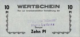 "L.058a.1 LPG Hof-Salbitz ""Ernst Thälmann"" 10 Pf (1)"