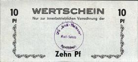 "L.058a.9 LPG Hof-Salbitz ""Ernst Thälmann"" 10 Pfennig (1)"