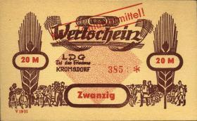 "L.070.4 LPG Kromsdorf ""Tal des Friedens""  20 Mark (1)"