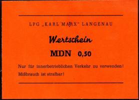 "L.071.2 LPG Langenau ""Karl Marx"" 0,50 MDN (1)"