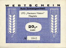 "L.082.7 LPG Magdala ""Hermann Matern"" 20 Mark (1)"