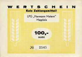 "L.082.9 LPG Magdala ""Hermann Matern"" 100 Mark (1)"