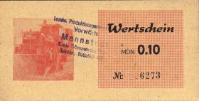 """L.083.1/8 LPG Mannstedt """"Vorwärts"""" 0,10 - 100 MDN (1)"""
