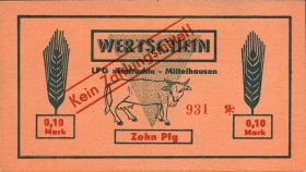 """L.089.1/8 LPG Mittelhausen """"Eintracht"""" 0,10 - 100 Mark (1)"""