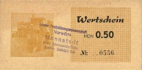 """L.083.2 LPG Mannstedt """"Vorwärts"""" 0,50 MDN (1)"""