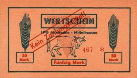 """L.089.7 LPG Mittelhausen """"Eintracht"""" 50 Mark (1)"""
