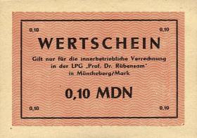 "L.090.1 LPG Müncheberg ""Prof. Dr. Rübensam"" 0,10 MDN (1)"