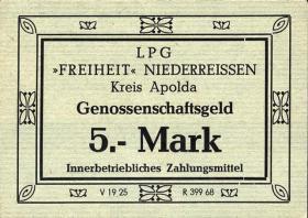"""L.096.4 LPG Niederreißen """"Freiheit"""" 5 Mark (1)"""