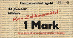 """L.111a.11 LPG Pfiffelbach """" Fortschritt"""" 1 Mark (1)"""