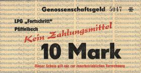 """L.111a.12 LPG Pfiffelbach """" Fortschritt"""" 10 Mark (1)"""
