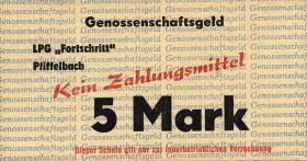 """L.111a.4 LPG Pfiffelbach """" Fortschritt"""" 5 Mark (1)"""