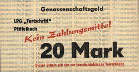 """L.111a.6 LPG Pfiffelbach """" Fortschritt"""" 20 Mark (1)"""