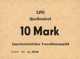 "L.115.4 LPG Quellendorf ""Goldene Ähre"" 10 Mark (1)"