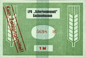 """L.123.9 LPG Sachsenhausen """"Scherkondequell"""" 1 Mark (1)"""