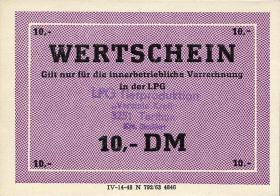 "L.136.14 LPG Tarthun ""Vereinte Kraft"" 10 DM (1)"