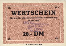 "L.136.15 LPG Tarthun ""Vereinte Kraft"" 20 DM (1)"