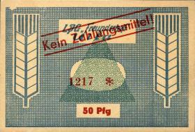 """L.141.21 LPG Ulla """"Freundschaft"""" 50 Pfennig (1)"""