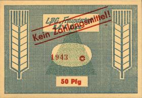 """L.141.3 LPG Ulla """"Freundschaft"""" 50 Pfennig (1)"""