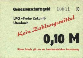 """L.143a.12 LPG Utenbach """" Frohe Zukunft"""" 0,10 Mark (2)"""