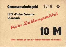 """L.143a.11 LPG Utenbach """" Frohe Zukunft"""" 10 Mark (1)"""