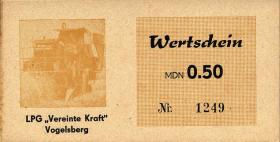 """L.145.2 LPG Vogelsberg/Sprötau """"Vereinte Kraft"""" 0,50 MDN (1/1-)"""