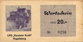 """L.145.6 LPG Vogelsberg/Sprötau """"Vereinte Kraft"""" 20 MDN (1-)"""