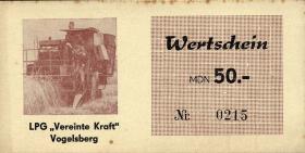 """L.145.7 LPG Vogelsberg/Sprötau """"Vereinte Kraft"""" 50 MDN (1-)"""