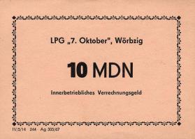 """L.152.5 LPG Wörbzig """"7.Oktober"""" 10 MDN (1)"""