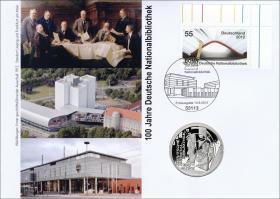 L-8789 • 100 Jahre Nationalbibliothek PP