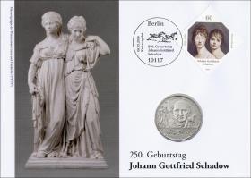 L-8890 • 250. Geburtstag Joh. Gottfried Schadow