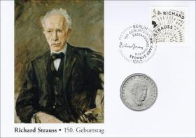 L-8900 • Richard Strauss - 150. Geburtstag