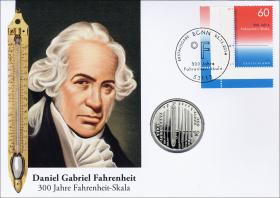 L-8929 • Daniel Gabriel Fahrenheit - 300 J. Fahrenheitskala PP