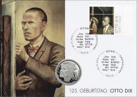 L-9095 • 125. Geburtstag Otto Dix PP-Ausgabe