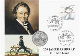L-9160 • 200 Jahre Fahrrad - Karl Drais