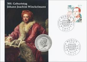 L-9170 • 300. Geburtstag Johann Joachim Winckelmann