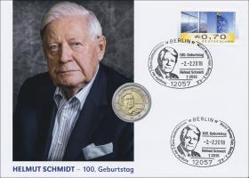 L-9200 • Helmut Schmidt - 100. Geburtstag