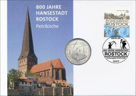 L-9240 • 800 Jahre Hansestadt Rostock