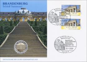 L-9365 • Brandenburg - Schloß Sanssouci PP-Ausgabe